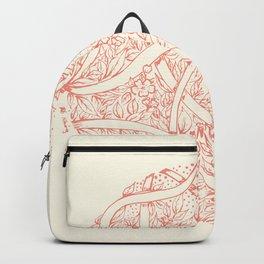 Natural circle Backpack