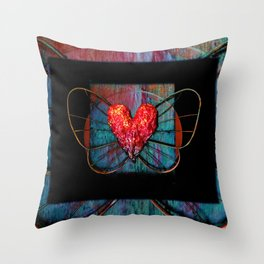 Elysium 2f by Kathy Morton Stanion Throw Pillow