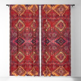 N200 - Berber Moroccan Heritage Oriental Traditional Moroccan Style Blackout Curtain