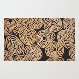 Wood planks texture Rug