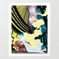 Reclamation #0 Artwork by Bart Sears/Matt Walker Art Print
