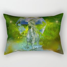 galaxy horse Rectangular Pillow