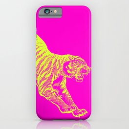 Tiger Running iPhone Case