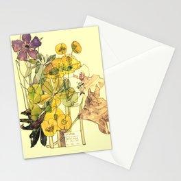 "Charles Rennie Mackintosh ""Flowers & Plants"" (5) Stationery Cards"