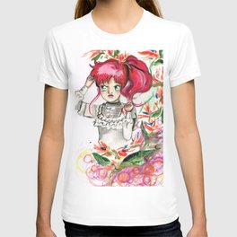 Sailor Jupiter Orange Flower T-shirt
