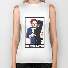 Gerard Way (double sided) Biker Tank