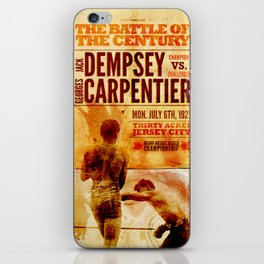 The battle of the century iPhone Skin