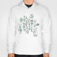 sports Hoodies featuring les sports by Estelle F