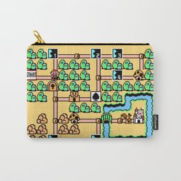 Super Mario Bros 3 World 1 Carry-All Pouch