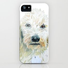 Two Labradoodles iPhone Case