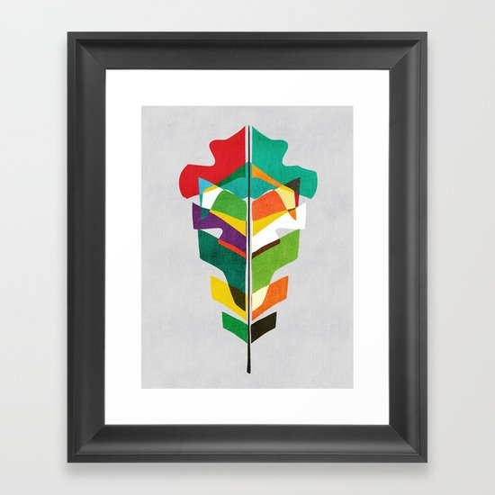 Before the last leaf falls Framed Art Print