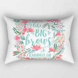 Big Brows – Juicy Palette Rectangular Pillow