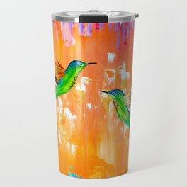 Orange Travel Mug