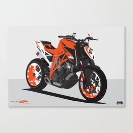Super Duke 1290 Canvas Print
