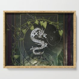 Chinese dragon Serving Tray