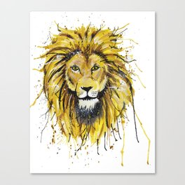 Lionish Canvas Print