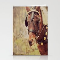 pony Stationery Cards featuring Pony by KimberosePhotography