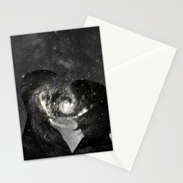 The way our souls melted. Stationery Cards