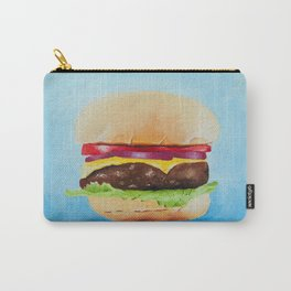 Cheeseburger Carry-All Pouch