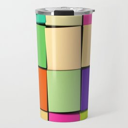 Color Cubes Travel Mug