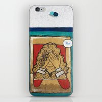 pain iPhone & iPod Skins featuring Pain by Thiffany