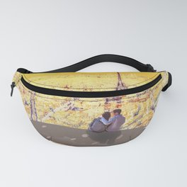Whale and Eiffel Tower Fanny Pack