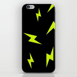 LIGHTNING BOLTS iPhone Skin