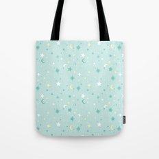 Twinkle Twinkle - Mint Tote Bag