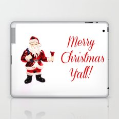 Merry Christmas Y'all Santa Laptop & iPad Skin