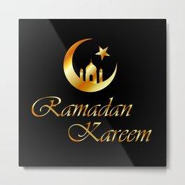 Ramadan Kareem Metal Print