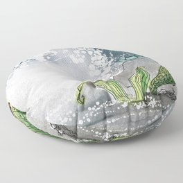 Shore break Floor Pillow
