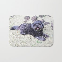 puppy blossom Bath Mat