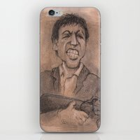 montana iPhone & iPod Skins featuring Montana by chadizms