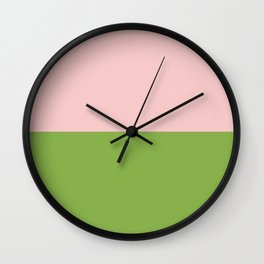 Goodbye 2016, Welcome 2017 - PANTONE Color of the Year Wall Clock