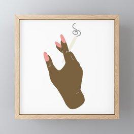 Mary Jane Framed Mini Art Print