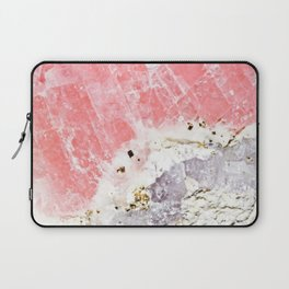 GOLD FLECKED ROSE QUARTZ Laptop Sleeve