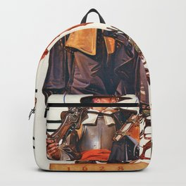 Joseph Christian Leyendecker - Thanksgiving 1628-1928 - Digital Remastered Edition Backpack