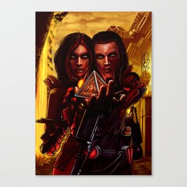 SWTOR - Sith twins selfie Canvas Print