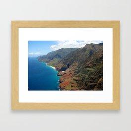 Napali Coast Framed Art Print
