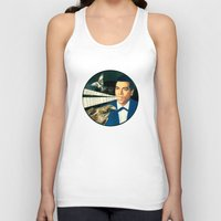 super mario Tank Tops featuring Super Mario by Peter Campbell