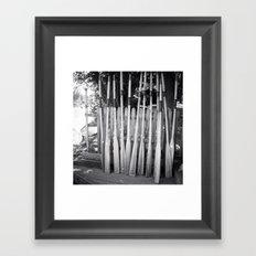Oar-some Framed Art Print