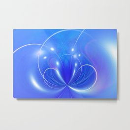 Abstract Background 420 Metal Print