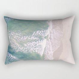 Empty Oceanside Rectangular Pillow