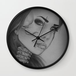 Devines zombies #6 Wall Clock