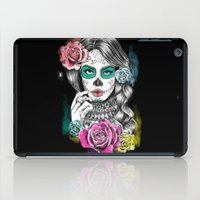 aaliyah iPad Cases featuring Aaliyah - Day of the Dead by DejaLiyah