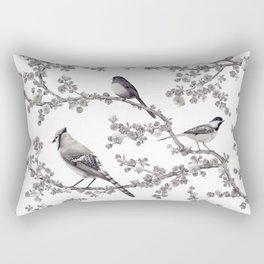 Backyard Birds Rectangular Pillow