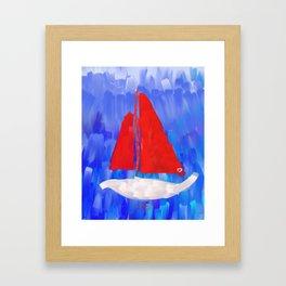 Oceansa Framed Art Print