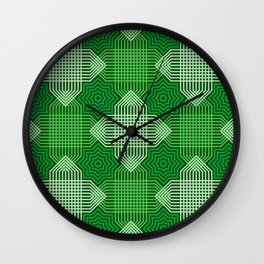 Op Art 67 Wall Clock