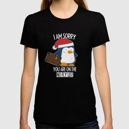 Penguin Funny T-Shirt I Travel Bird Gift T-shirt