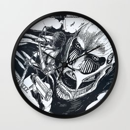 Shingeki no kyojjin AttackOnTitan  Wall Clock